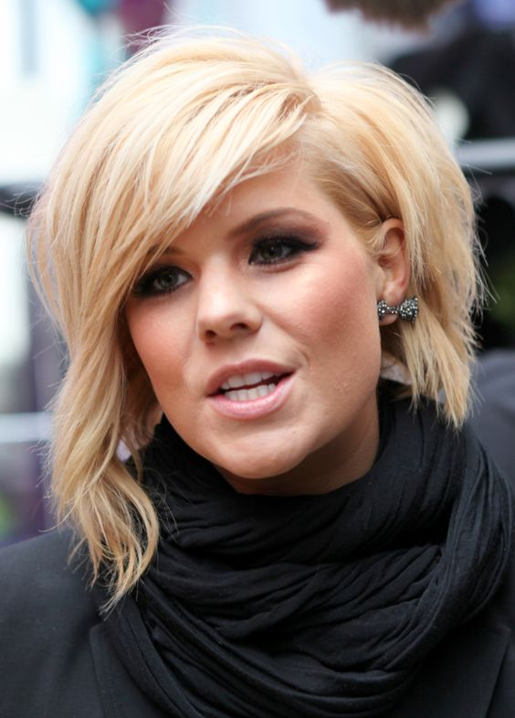 Short Haircuts For Thick Hair To Embellish Your Look Asymmetric_short_hairstyle_thick_hair_4