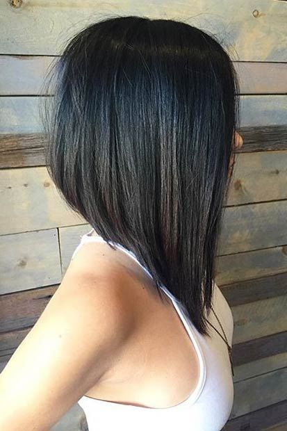 Short Edgy Haircuts that You Should not Miss! Asymmetrical_Bob_3