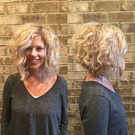 Short Hairstyles 2017, Check Them Now! Blonde_Curly_Bob_1-1