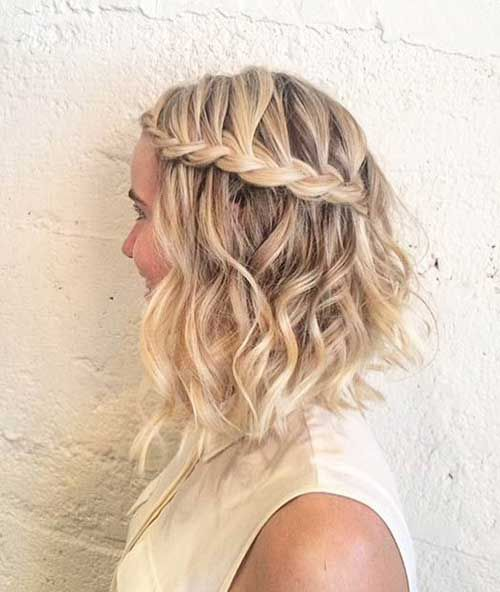 Should Try These Points: Prom Hairstyles for Short Hair Blonde_side_braided_style_3-1