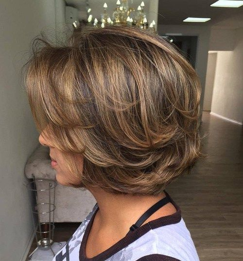 Short Haircuts For Thick Hair To Embellish Your Look Chic_short_hairstyle_thick_hair_2