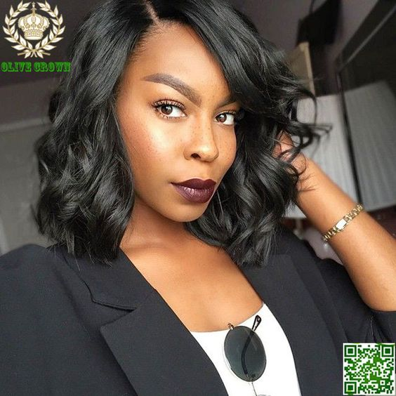 Ideas for Great short haircuts for black women Classic_wave_bob_3