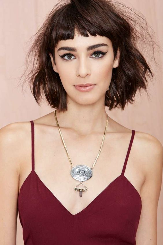 Short Edgy Haircuts that You Should not Miss! Micro_fringed_bob_4