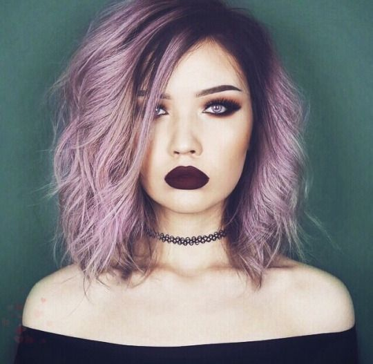 Best Styles of Short Haircuts for Thin Hair Pastel_Short_Hairstyles_4
