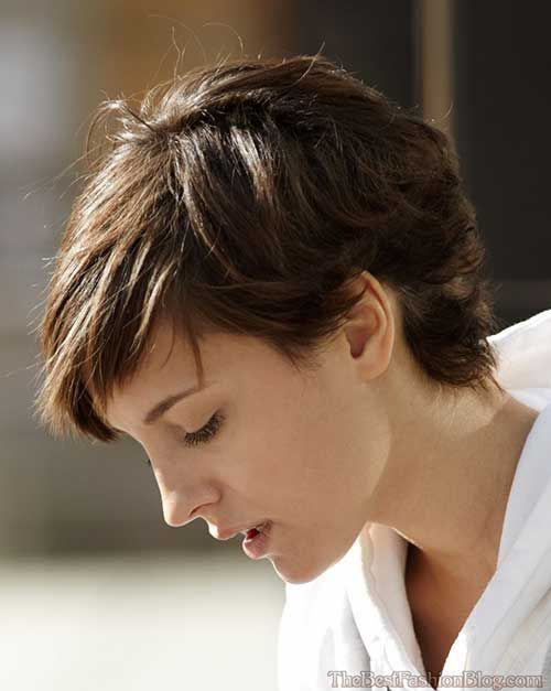 Short Haircuts For Thick Hair To Embellish Your Look Pixie_short_hairstyle_thick_hair_1