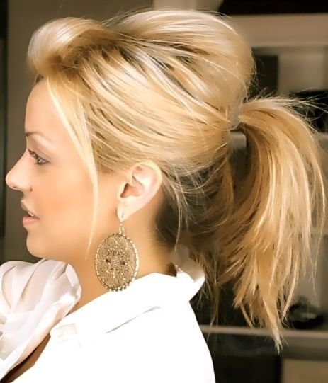 Adorable Wedding Hairstyles for Short Hair Ponytail_Short_Hair_4-1