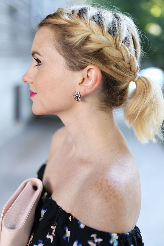 Adorable Wedding Hairstyles for Short Hair Ponytail_Short_Hair_5
