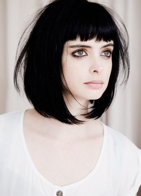 Best Haircuts for Short Straight Hair Retro_bob_1
