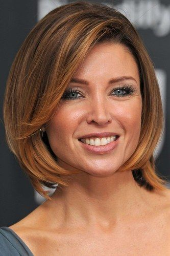 Unique and Stunning Chin Length Bob Hairstyle Round_brushed_bob_1