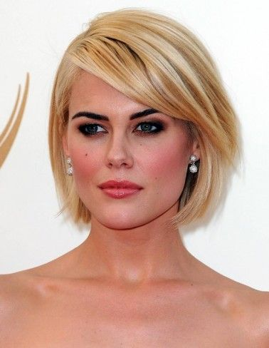 Unique and Stunning Chin Length Bob Hairstyle Round_brushed_bob_2