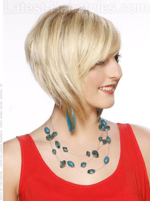 Unique and Stunning Chin Length Bob Hairstyle Round_brushed_bob_3