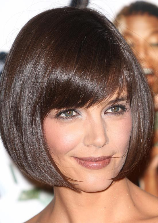Three Stunning Styles of Short Shag Haircuts Shaggy_Rounded_Bob_Fringe_1