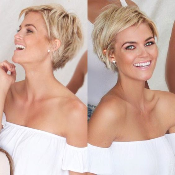 Cute Short Haircuts for Women that Last Forever! Short_Blonde_1