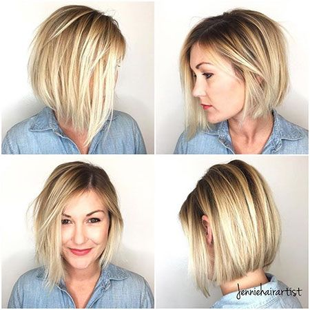 Cute Short Haircuts for Women that Last Forever! Short_Blonde_2