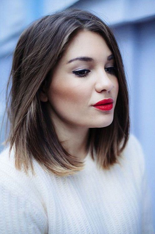 Best Styles of Short Haircuts for Thin Hair Short_Straight_Hairstyle_1