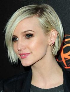 Best Styles of Short Haircuts for Thin Hair Short_Straight_Hairstyle_2