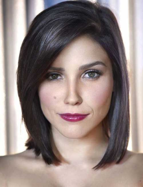 Best Styles of Short Haircuts for Thin Hair Short_Straight_Hairstyle_4