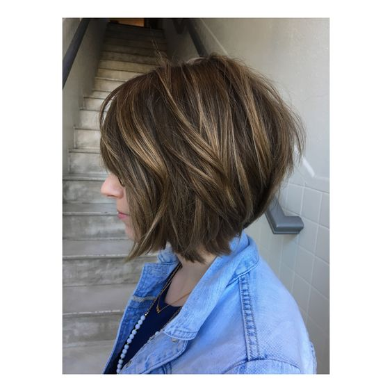 Latest Short Hairstyles 2017 Textured_Short_Bob_1
