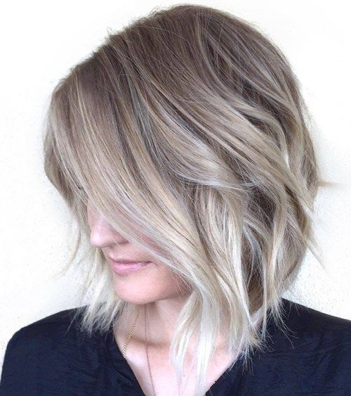 Latest Short Hairstyles 2017 Textured_Short_Bob_2