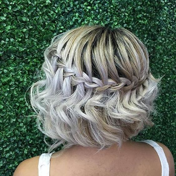 Braids For Short Hair Which Inspires Women Waterfall_braids_short_hair_2