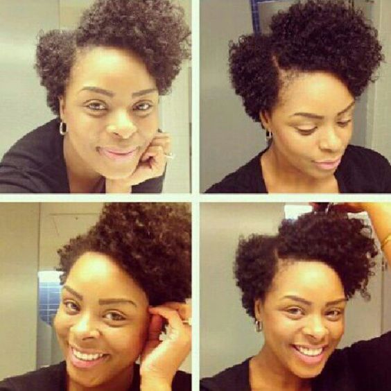 Natural Hairstyles for Short Hair That Is Simple To Do! asymmetrical_afro_hairstyle_4