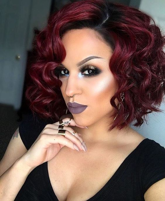 Ideas for Great short haircuts for black women curling_bob_2