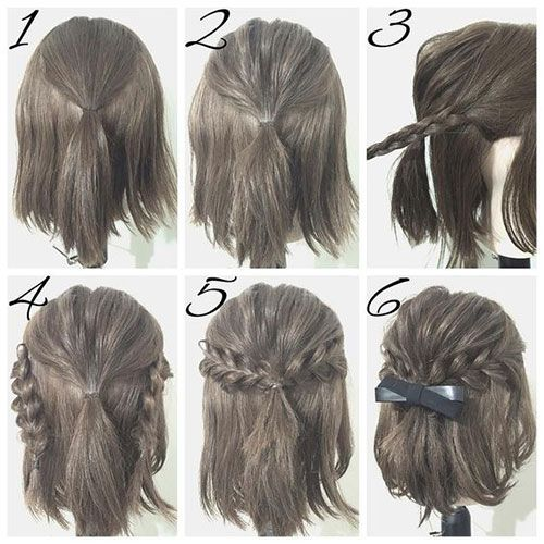 The Easy Updos For Short Hair That Will Amaze Men! cute_easy_updos_short_hair_3