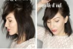 Easy Updos Short Hair Bangs 5