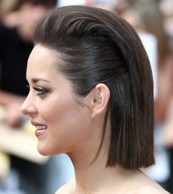 Short Haircuts for Fine Hair that You Should not Miss pulled_back_fine_hair_2-2