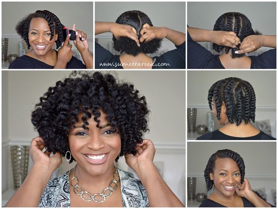 The Best Short Natural Hair That You Should Know! short_natural_hair_tutorial_2-1