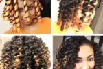 Short Natural Hair Tutorial 3