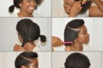 Short Natural Hair Tutorial 6