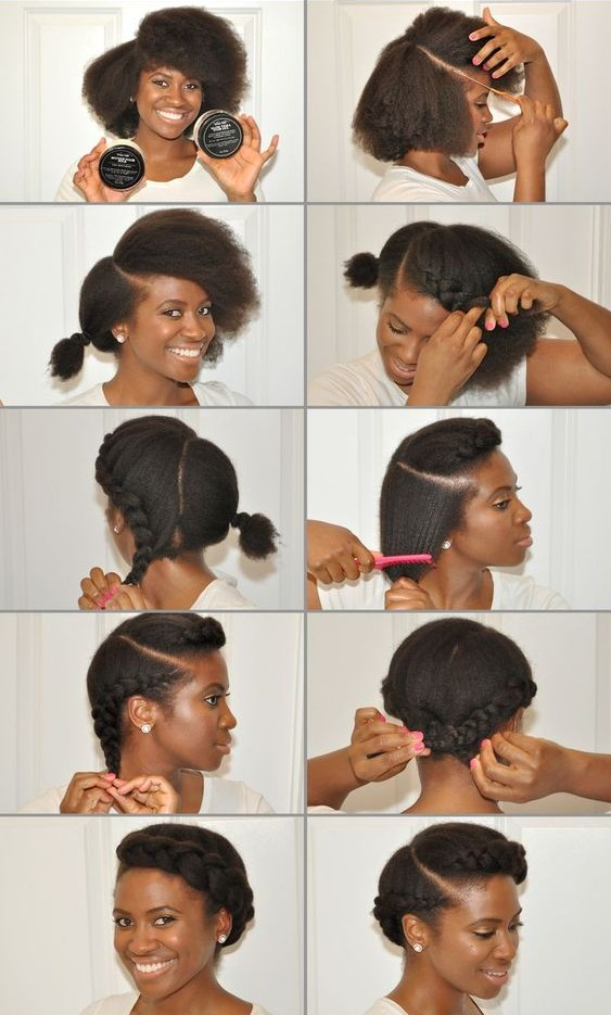 The Best Short Natural Hair That You Should Know! short_natural_hair_tutorial_6-1