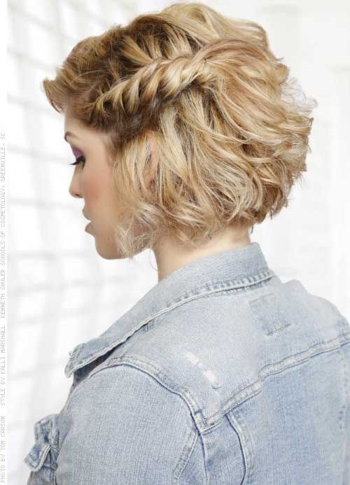 Braids For Short Hair Which Inspires Women simple_side_braids_short_hair_1