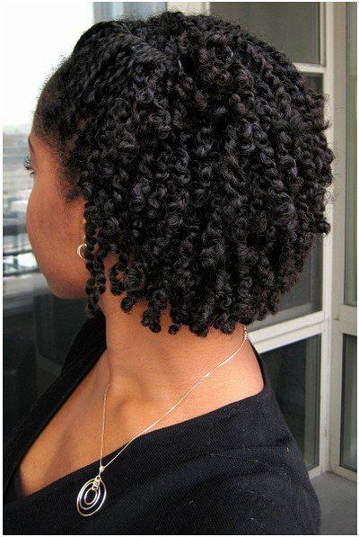 Short Black Haircuts that Best to Try! two_strand_twist_2