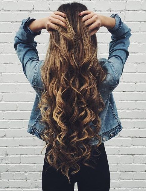 Best Curly Hairstyles Long