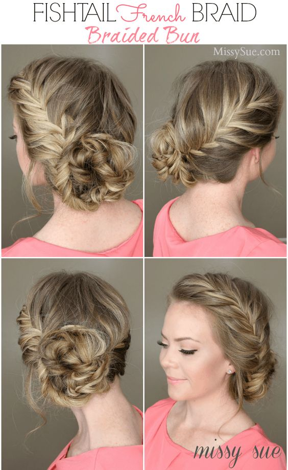 French bun hairstyles