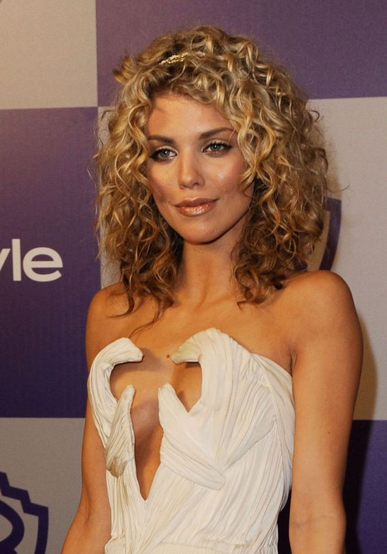 Popular Curly Celebrity Hair Styles