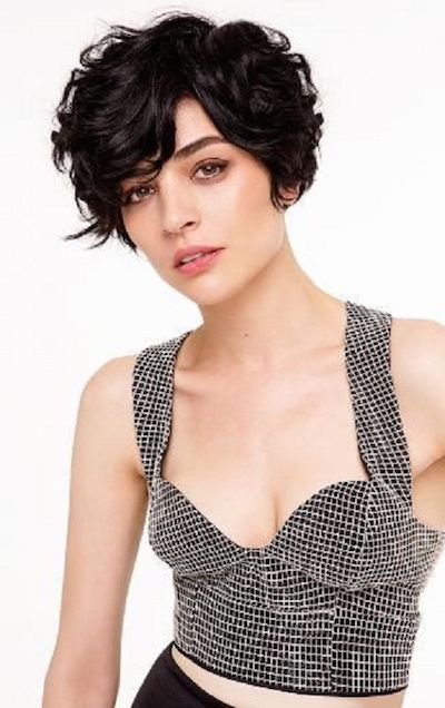 Short Curly Hair Styles with Kind Haircuts