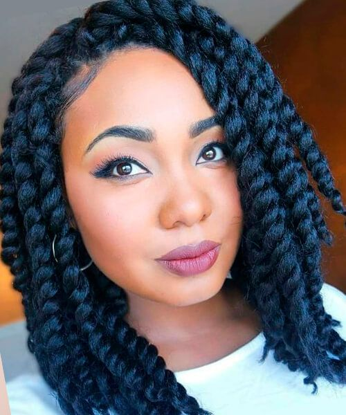 Which is the Best for African American Women? Braids or Weaves? african_american_hairstyle_braids_5-3