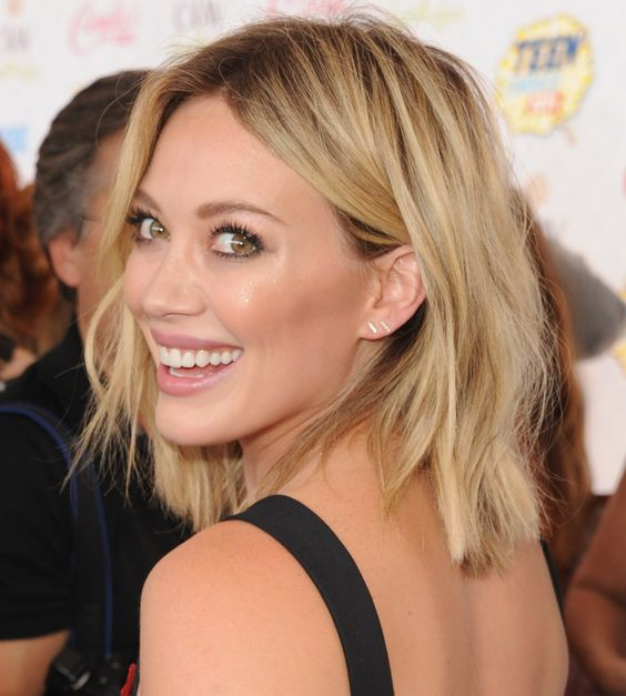 Sedu Hairstyles How To Reveal The Natural Beauty Of Your Face Shape hillary_duff_hairstyles_1