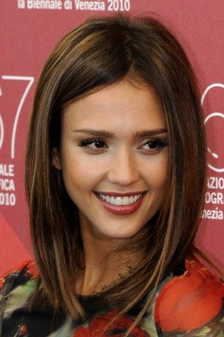 Sedu Hairstyles How To Reveal The Natural Beauty Of Your Face Shape jessica_alba_hairstyles_4