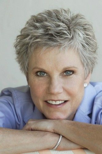 Hairstyles For Gray Hair Without Looking Old older_women_grey_short_hairstyles_20