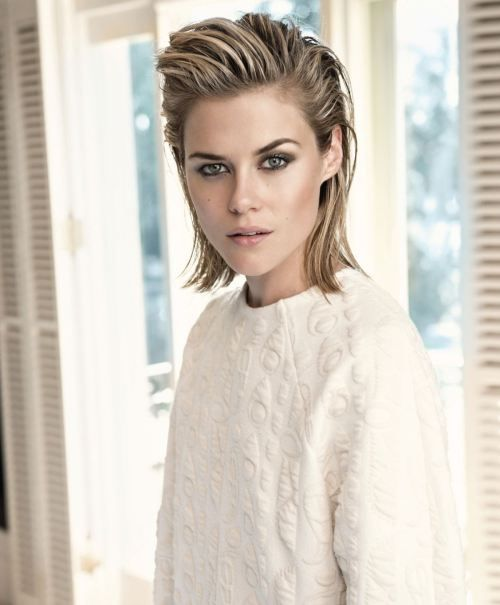 Short Hairstyle And Your Personality short_slick_back_short_hairstyle_women_2-1