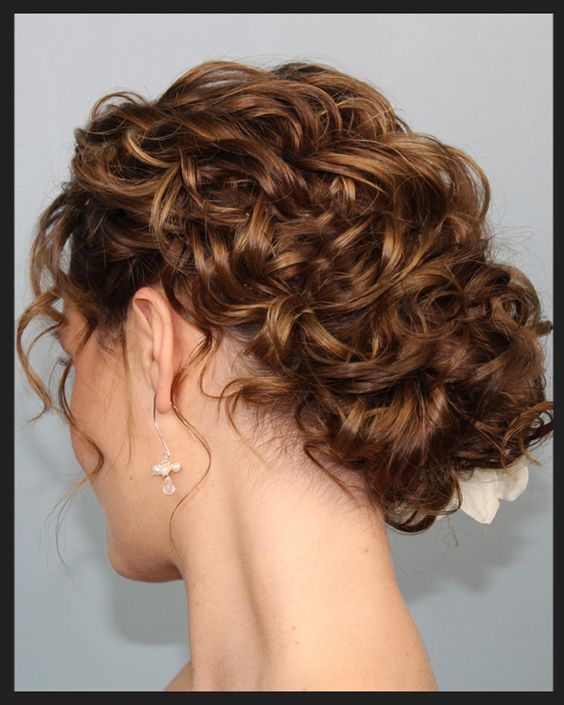Curly Hairstyles For Long Hair For Wedding: Choosing A Suitable Hairstyle For Your Wedding