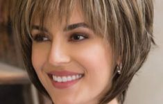 Beautiful Short Hairstyles for Women Over 50 with Thin Hair Bob_Bangs_Older_Woman_Over_50_5-235x150