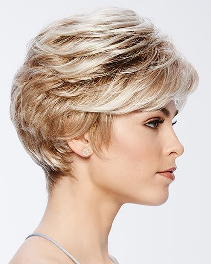 Pixie with a Maximum Lift Women Over 50 Thin Hair