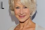 Short Hairstyles Women Over 60 Side Bangs 2