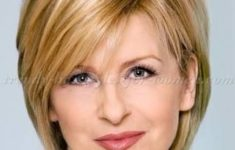 Recommended Short Haircuts For Women Over 50 With Round Face Asymmetrical Bangs Bob Hairstyles 3 235x150