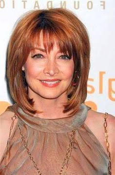 Best Short Hairstyles For Women Over 60 With Thick Hair Auburn Bob Hairstyle Ideas 3